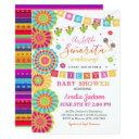Fiesta Baby Shower Invitations Girl Fiesta Shower