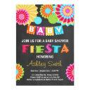 Fiesta Baby Shower Invitations Mexican Baby Shower