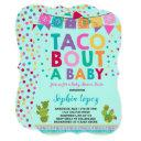 Fiesta Baby Shower Invitations Taco Bout A Baby