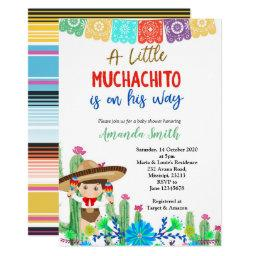9621cfa3634 Fiesta Baby Shower Invitations