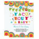 Fiesta Couples Baby Shower Invitation Co-ed Shower