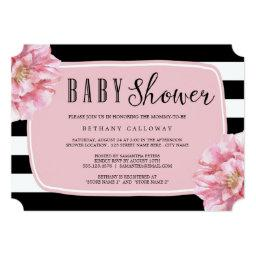 Floral Chic Baby Shower  / Pink