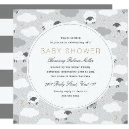 Fluffy Sheep Baby Shower