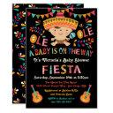 Folk Art Mexican Fiesta Baby Shower Invitation