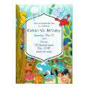 Fun Under The Sea Kids Birthday Party Invitationss