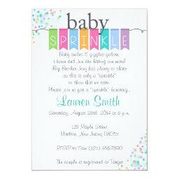 Gender Neutral Baby Sprinkle Invitationss
