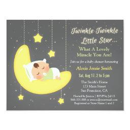 Gender Neutral Twinkle Little Star Baby Shower