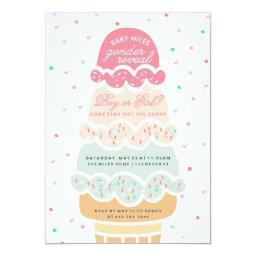 GENDER REVEAL - here's the scoop ice cream party