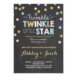 Gender reveal   Twinkle Star