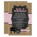 Girl Babyq Sprinkle, Bbq Baby Shower, Baby Q Invitation