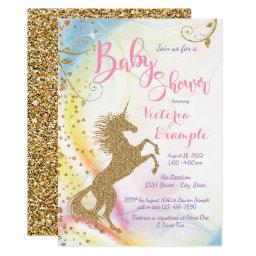 Girls Unicorn Baby Shower