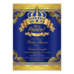 Gold Crown Royal Blue Prince Boy