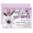 Halloween Baby Shower, Bats Invitation