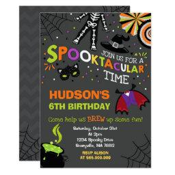 Halloween Birthday  Spooktacular Party