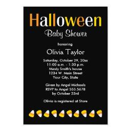 Halloween Candy Baby Shower