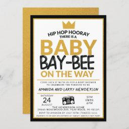 Hip Hop Baby Shower Invitation