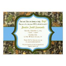 Hunting Camo Baby Boy Shower