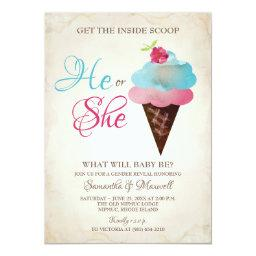Ice Cream Gender Reveal  - Small