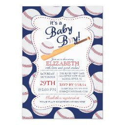 It's a Baby Boy Baseball Baby Shower