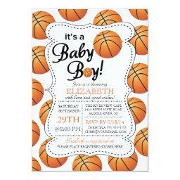 It's a Baby Boy Basketball Baby Shower