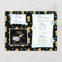 It's A Boy, Ultrasound Pic Baby Shower Invitation