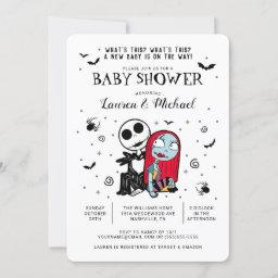 Jack And Sally Baby Shower Invitation