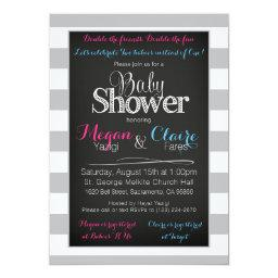 Joint coed  Chalkboard Invitation