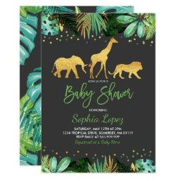 Jungle Baby Shower  Tropical Baby Shower