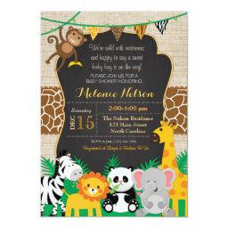 Jungle Safari Wild Baby Shower