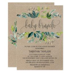 Kraft Foliage Baby Brunch