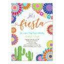 Let's Fiesta Baby Shower  Mexican Cactus