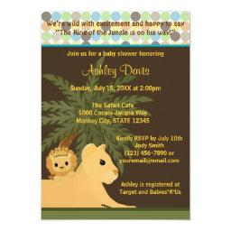 LION Baby Shower  King of the Jungle KOT