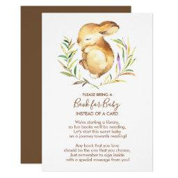 Little Bunny Baby Shower Book for Baby