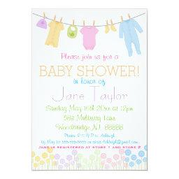 Little Clothes Baby Shower