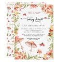Little Ladybug | Spring Baby Shower Invitation