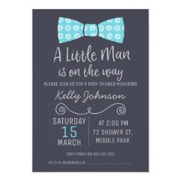 Little Man Bow Tie Baby Shower