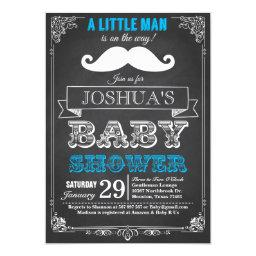 Little Man Mustache Bash Baby Shower