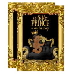 Little Prince on Throne  Ethnic