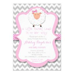 Little Sweet Lamb Girl Baby Shower