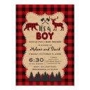 Lumberjack Red Buffalo Little Hunter Baby Shower
