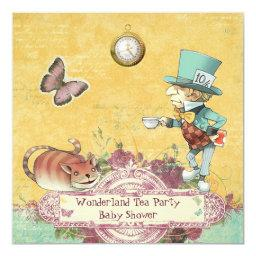 Mad Hatter's Wonderland Tea Party Baby Shower