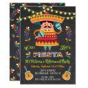 Mariachi Mexcian Fiesta Retirement Party Invitations