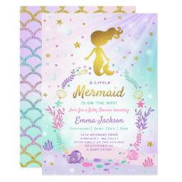 Mermaid Baby Shower  Little Mermaid Baby