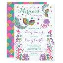 Mermaid Baby Shower  Pink Gold Shower