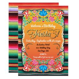 Mexican Fiesta Party Gold Glitter