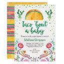 Mexican Taco Bout A Baby Shower Invitation