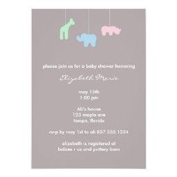 Mobile Baby Shower