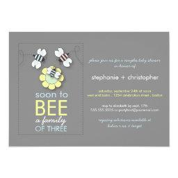 Modern Family to Bee Couples Baby Shower for Boy