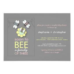 Modern Family to Bee Couples Baby Shower for Girl