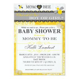 Mom to Bee Whimsical Bee Baby Shower